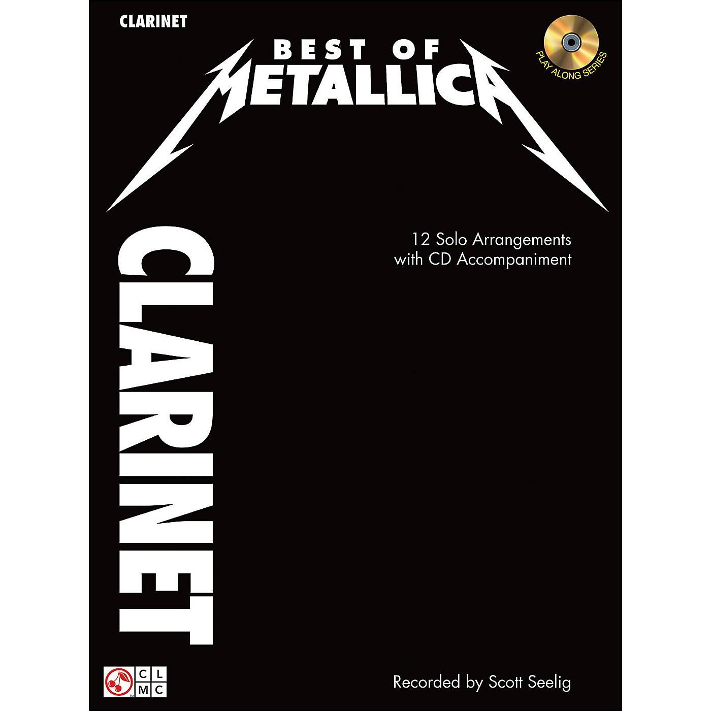 Cherry Lane Best Of Metallica Clarinet thumbnail