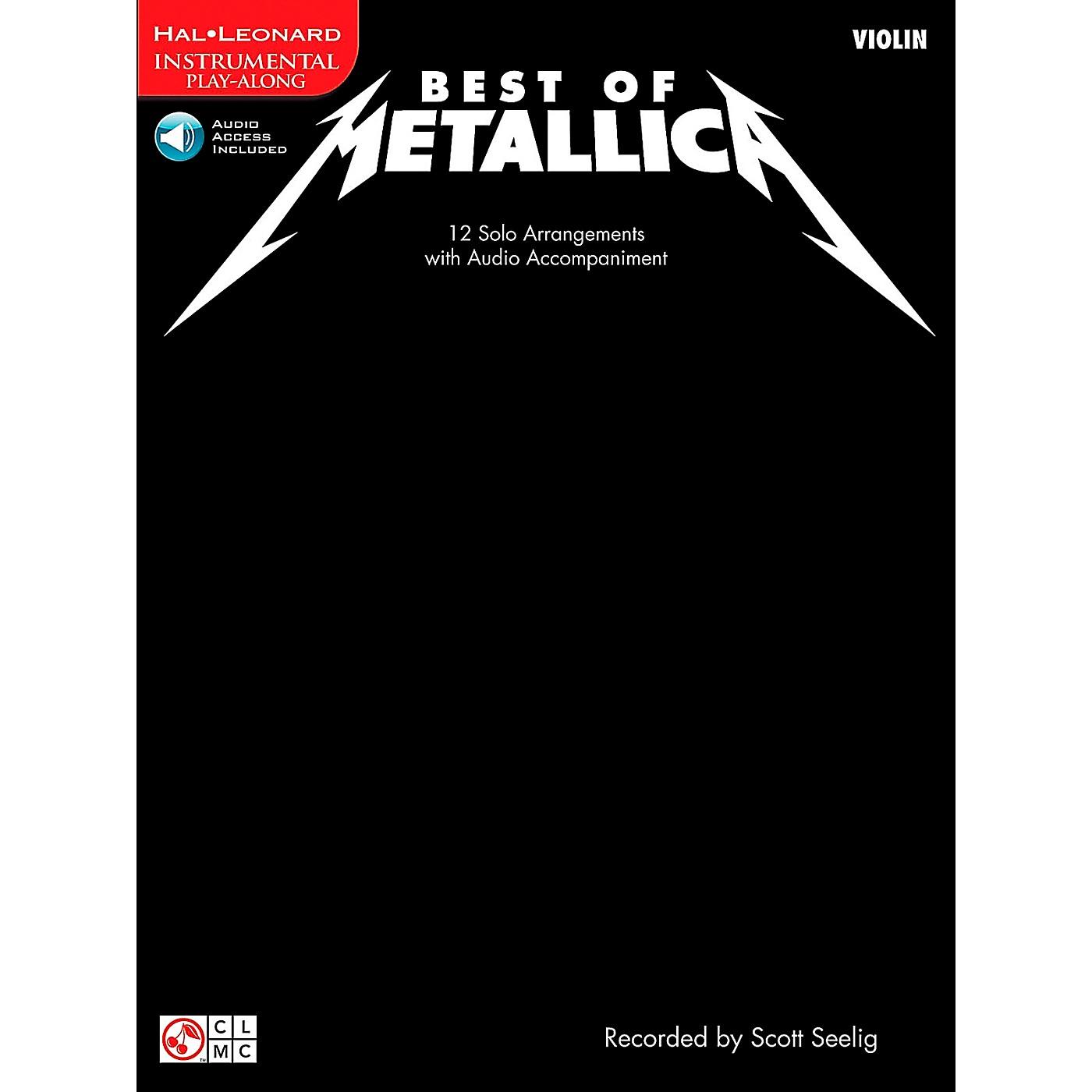 Cherry Lane Best Of Metallica Violin thumbnail