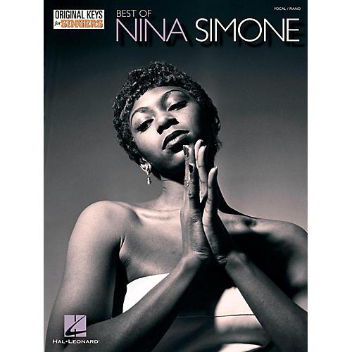 Hal Leonard Best Of Nina Simone - Original Keys For Singers thumbnail
