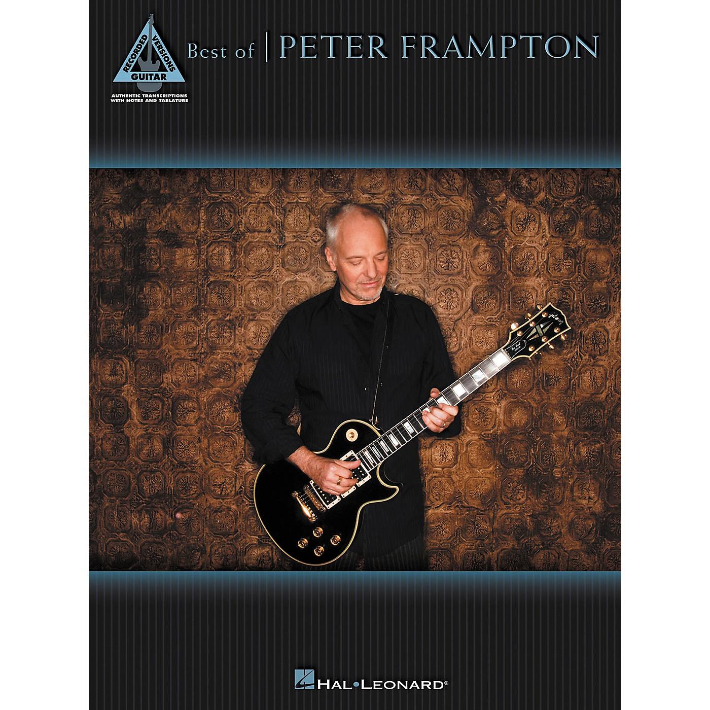 Hal Leonard Best Of Peter Frampton Guitar Tab Songbook thumbnail