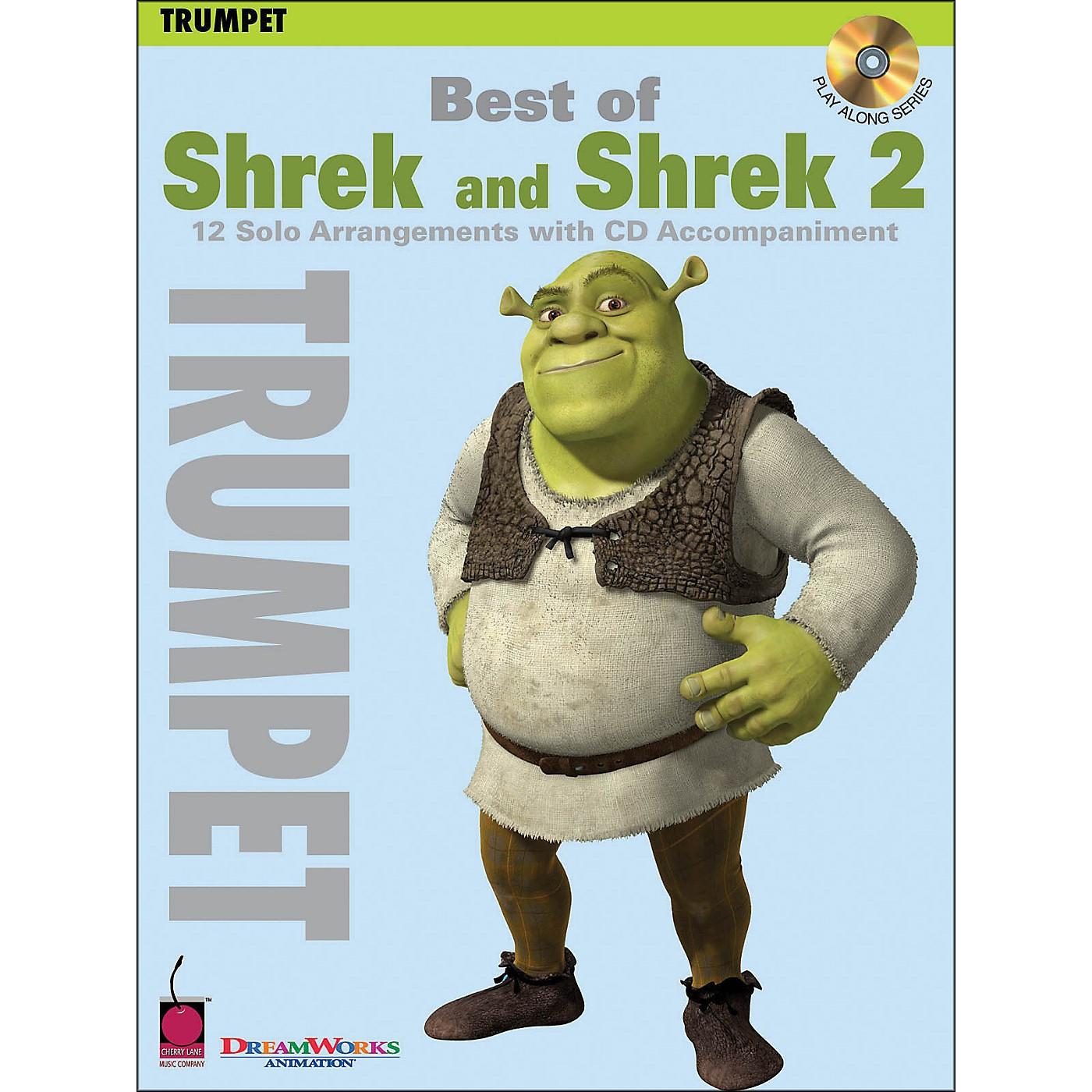 Cherry Lane Best Of Shrek And Shrek 2 for Trumpet Book/CD thumbnail