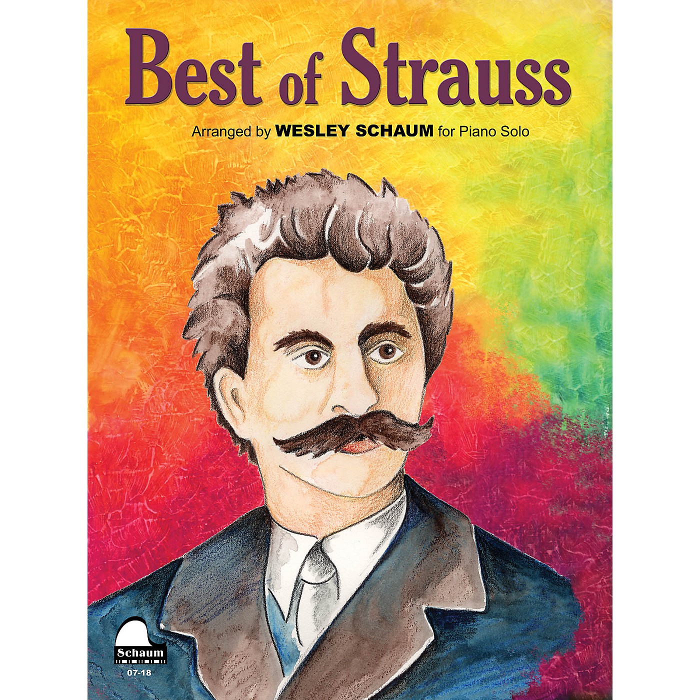 SCHAUM Best Of Strauss Educational Piano Series Softcover thumbnail