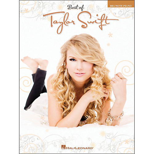 Hal Leonard Best Of Taylor Swift Big Note Piano thumbnail