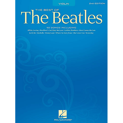 Hal Leonard Best Of The Beatles - 2nd Edition for Violin thumbnail