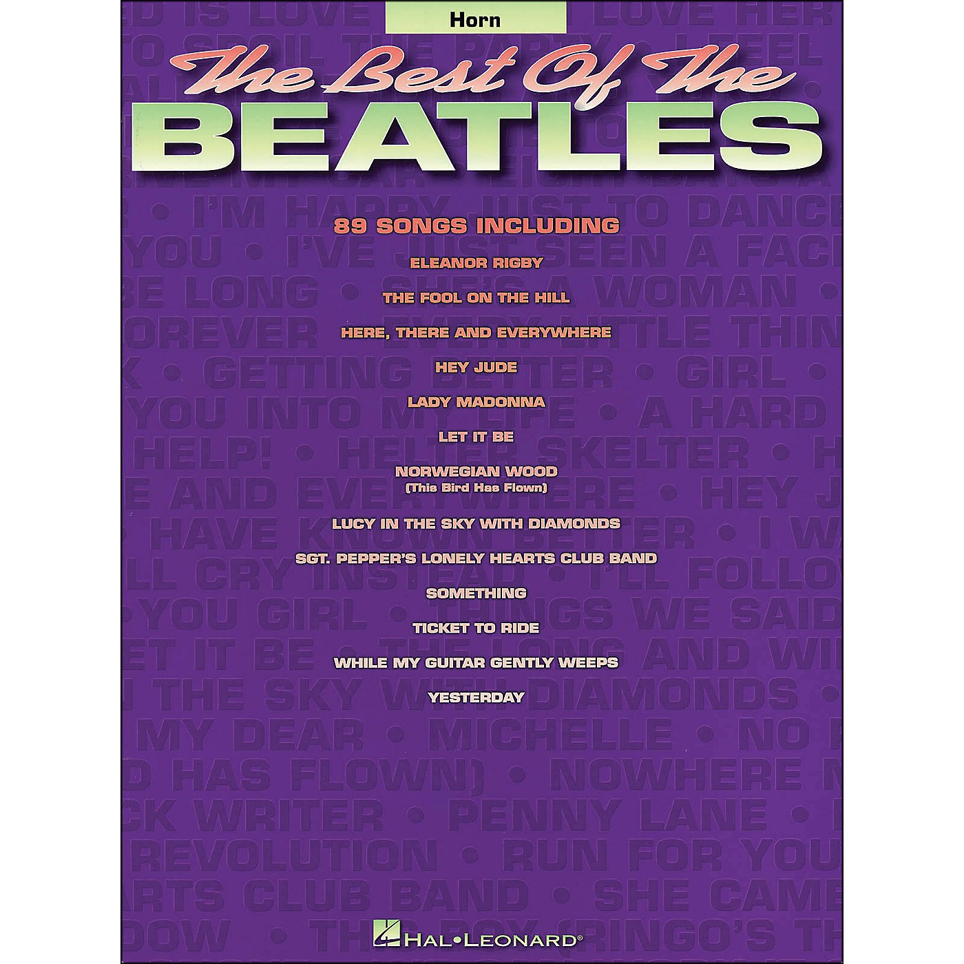 Hal Leonard Best Of The Beatles Horn thumbnail