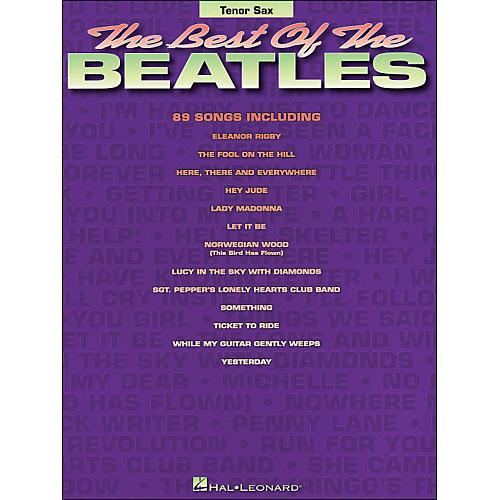 Hal Leonard Best Of The Beatles Tenor Sax thumbnail
