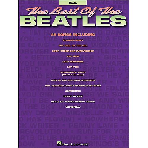 Hal Leonard Best Of The Beatles Viola thumbnail