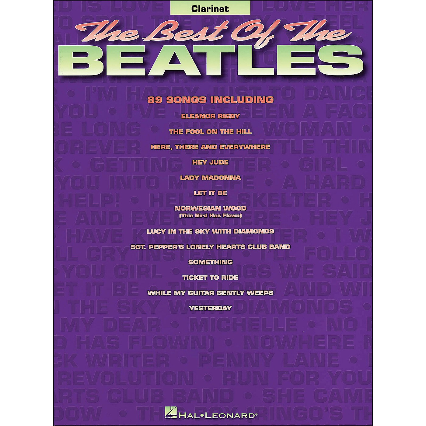 Hal Leonard Best Of The Beatles for Clarinet thumbnail