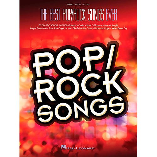 Hal Leonard Best Pop/Rock Songs Ever Piano/Vocal/Guitar Songbook thumbnail