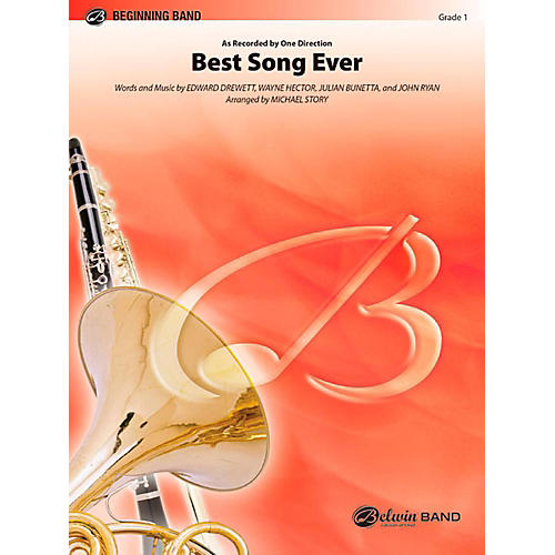 Alfred Best Song Ever Concert Band Level 1 Set thumbnail