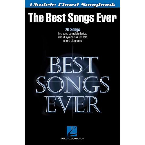 Hal Leonard Best Songs Ever - Ukulele Chord Songbook thumbnail