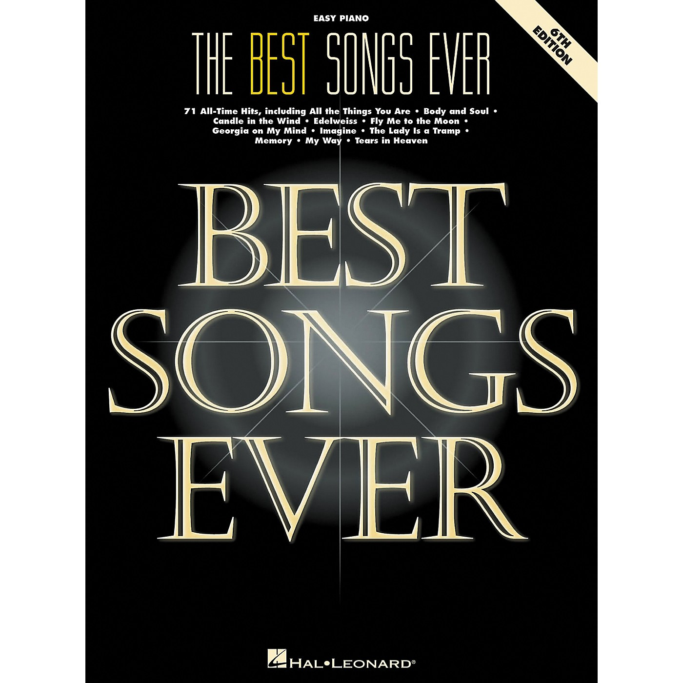 Hal Leonard Best Songs Ever For Easy Piano 6th Edition thumbnail