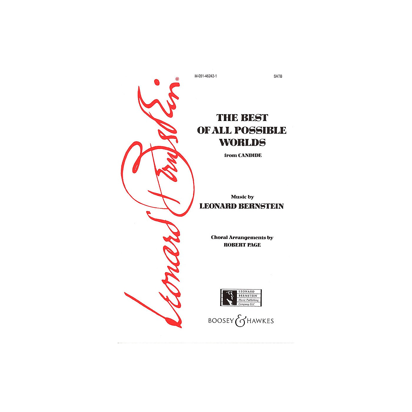 Leonard Bernstein Music Best of All Possible Worlds (from Candide) (SATB) SATB Composed by Leonard Bernstein thumbnail