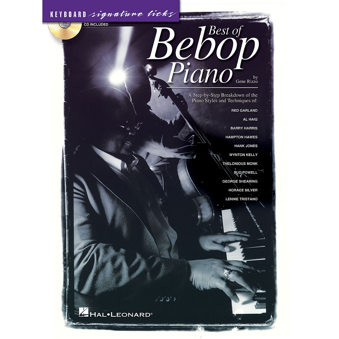 Hal Leonard Best of Bebop Piano Signature Licks Keyboard Series Softcover with CD Written by Gene Rizzo thumbnail