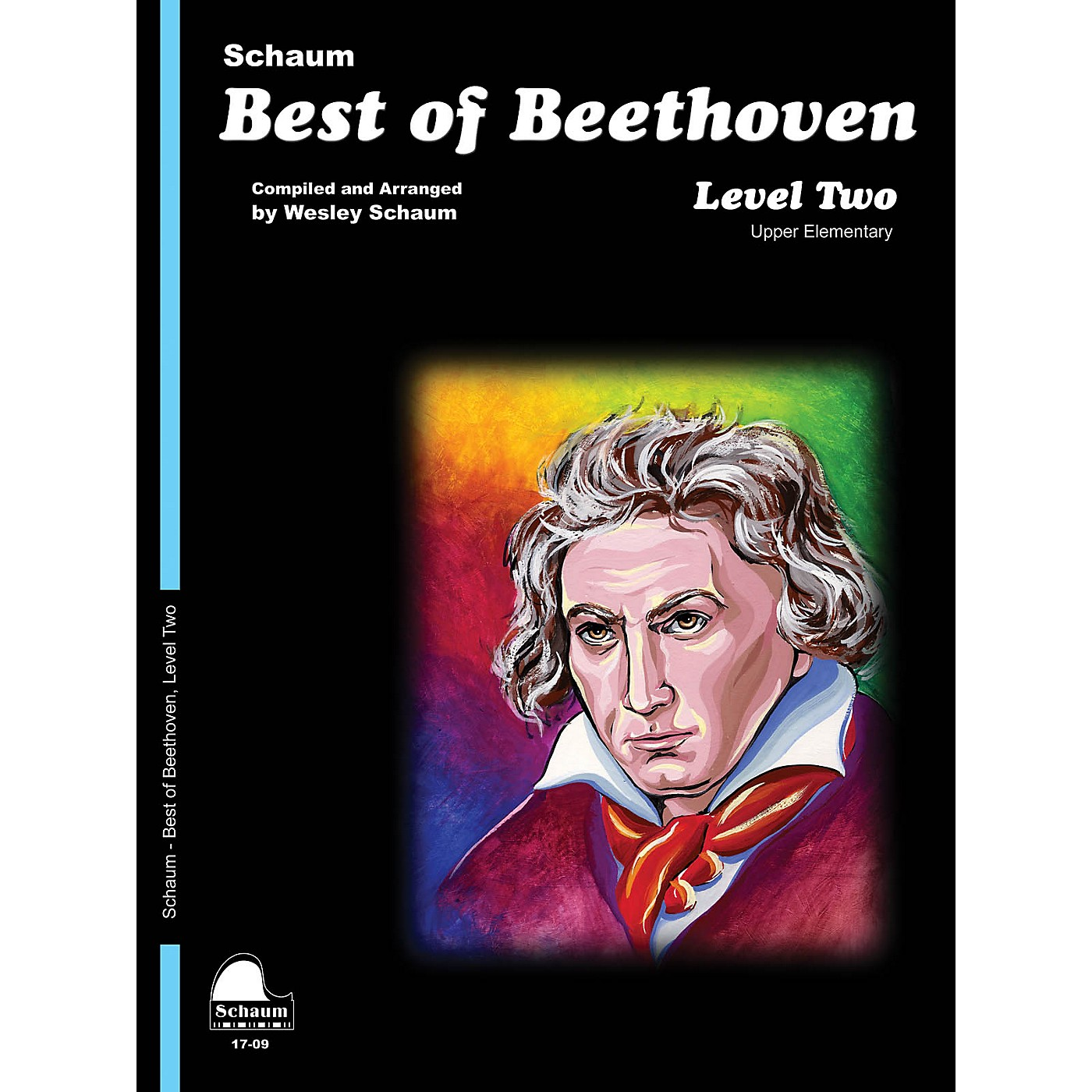 SCHAUM Best of Beethoven Educational Piano Book by Ludwig van Beethoven (Level Late Elem) thumbnail