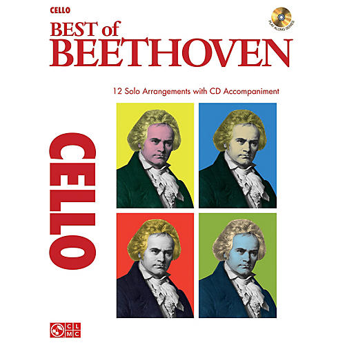Cherry Lane Best of Beethoven Instrumental Play-Along Series Softcover with CD thumbnail
