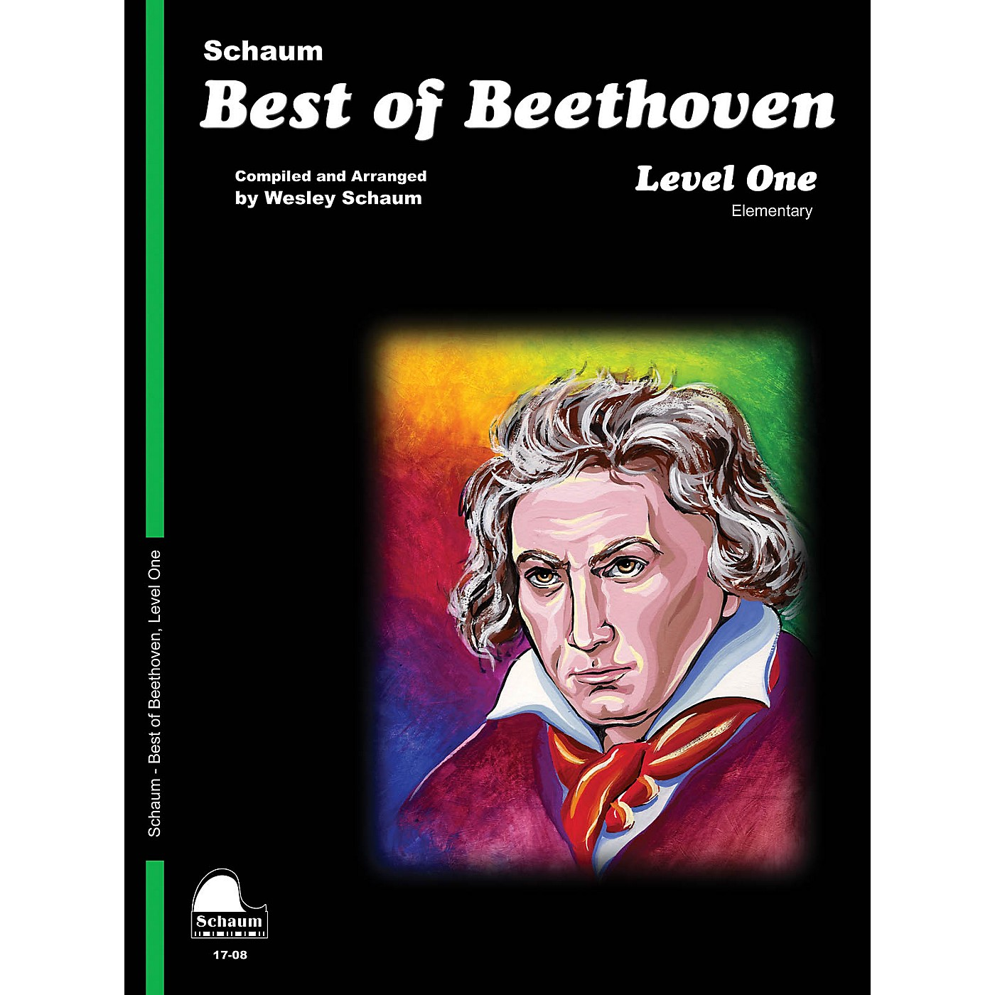 SCHAUM Best of Beethoven (Level 1 Elem Level) Educational Piano Book by Ludwig van Beethoven thumbnail