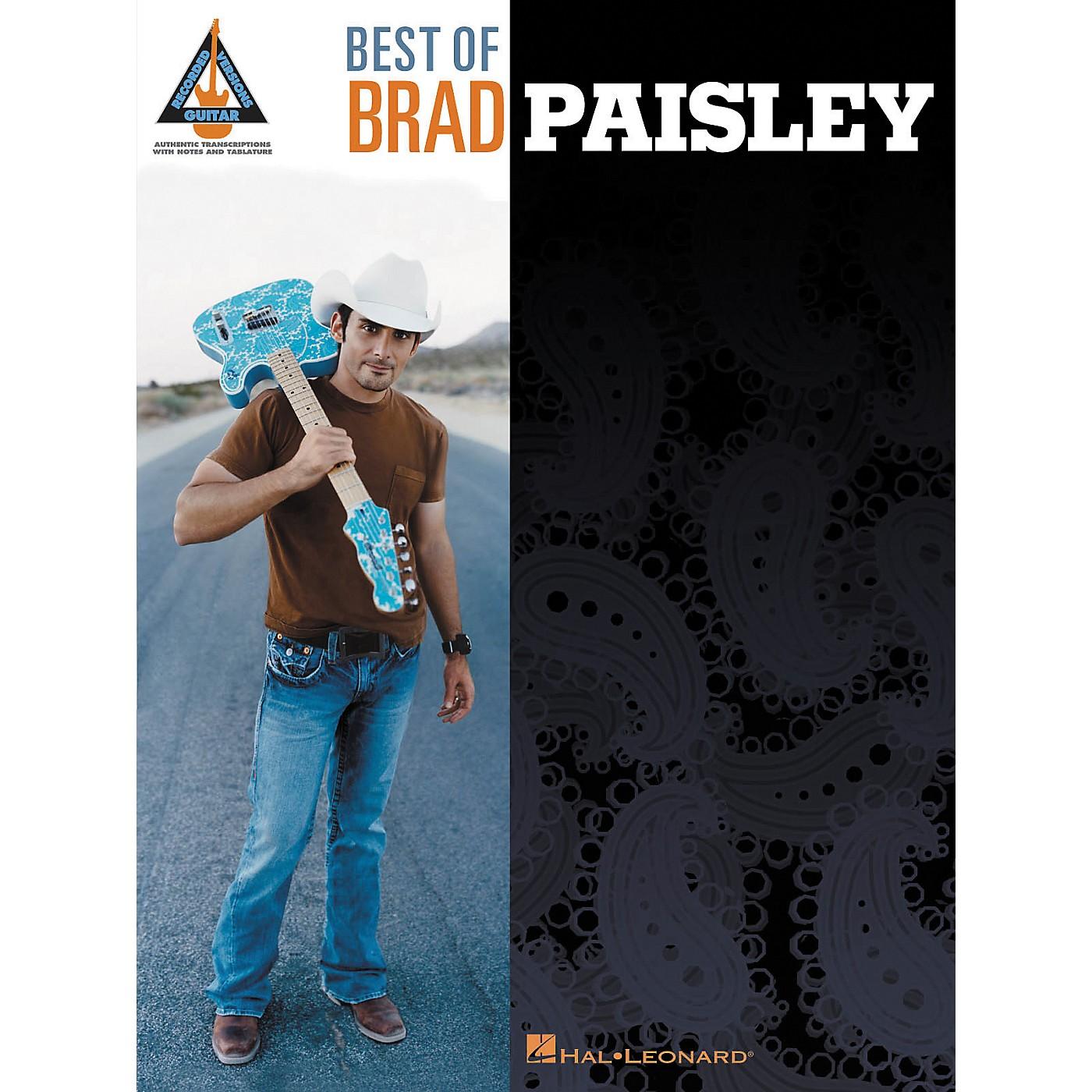 Hal Leonard Best of Brad Paisley Guitar Tab Songbook thumbnail