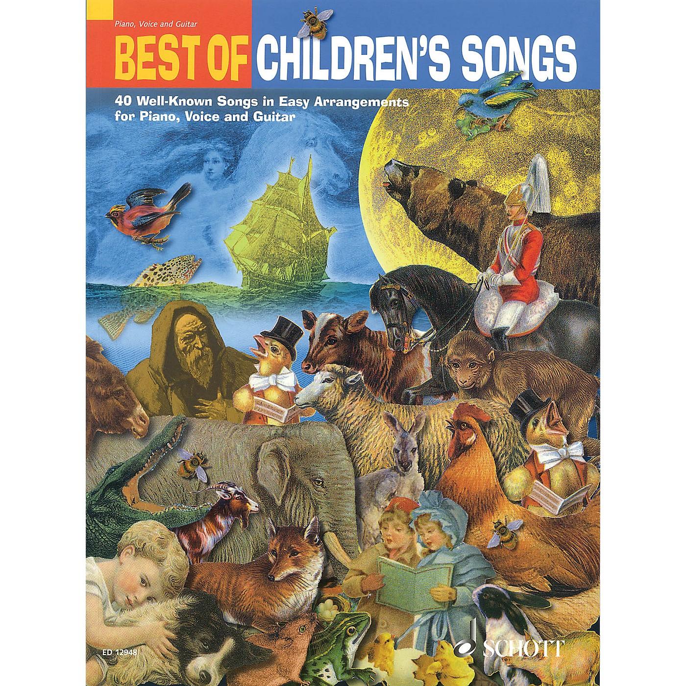 Schott Best of Children's Songs Misc Series thumbnail