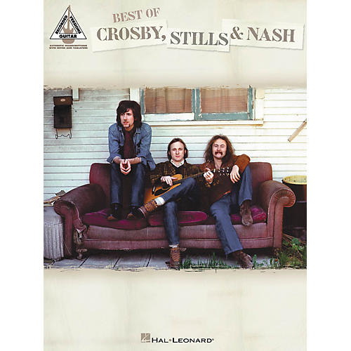Hal Leonard Best of Crosby Stills & Nash Guitar Tab Songbook-thumbnail