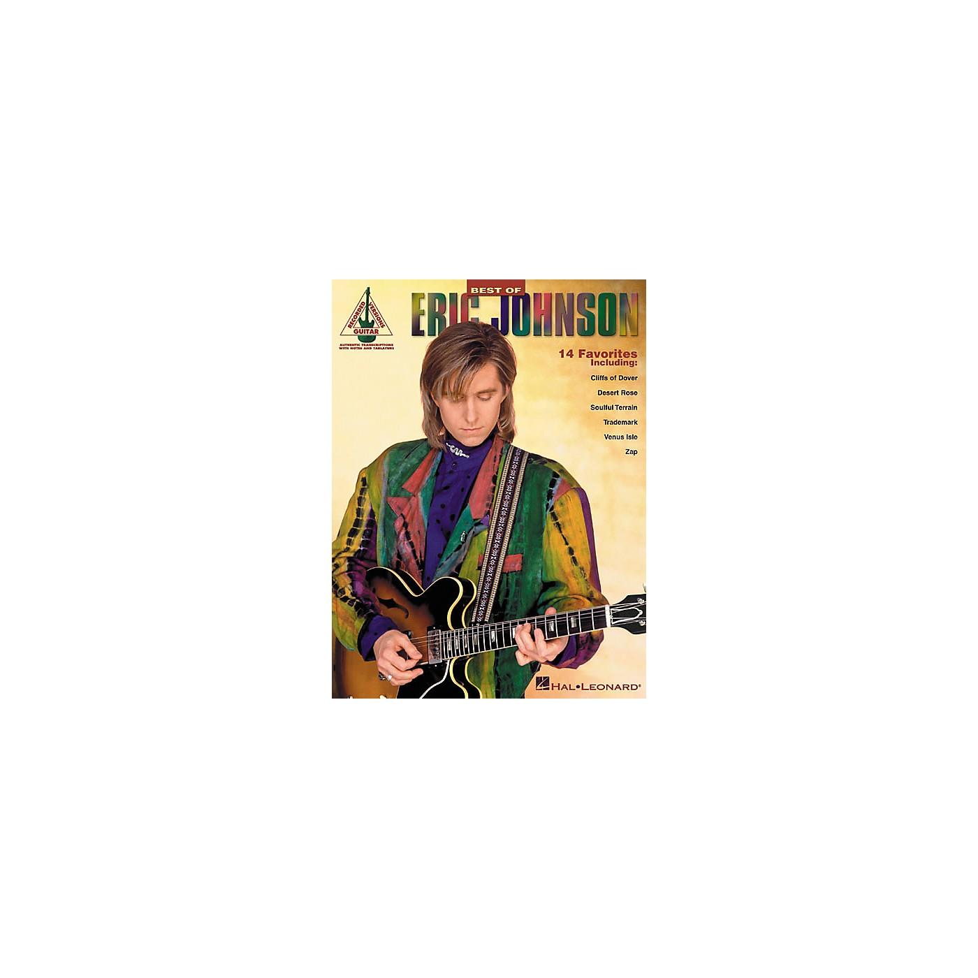 Hal Leonard Best of Eric Johnson Guitar Tab Songbook thumbnail