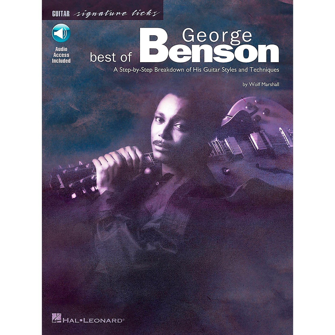 Hal Leonard Best of George Benson Signature Licks Book with CD thumbnail