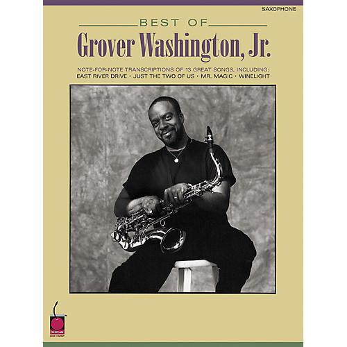 Hal Leonard Best of Grover Washington, Jr. (Saxophone) thumbnail