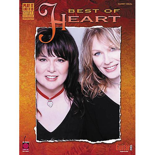 Cherry Lane Best of Heart Guitar Tab Songbook thumbnail