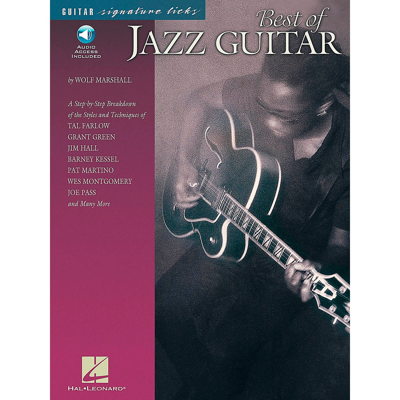 Hal Leonard Best of Jazz Guitar Signature Licks Book with CD thumbnail