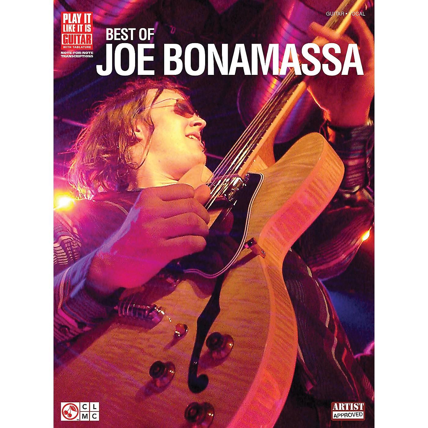 Cherry Lane Best of Joe Bonamassa Play It Like It Is Guitar Tab Songbook thumbnail