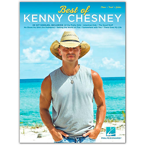 Hal Leonard Best of Kenny Chesney Piano/Vocal/Guitar Artist Songbook thumbnail