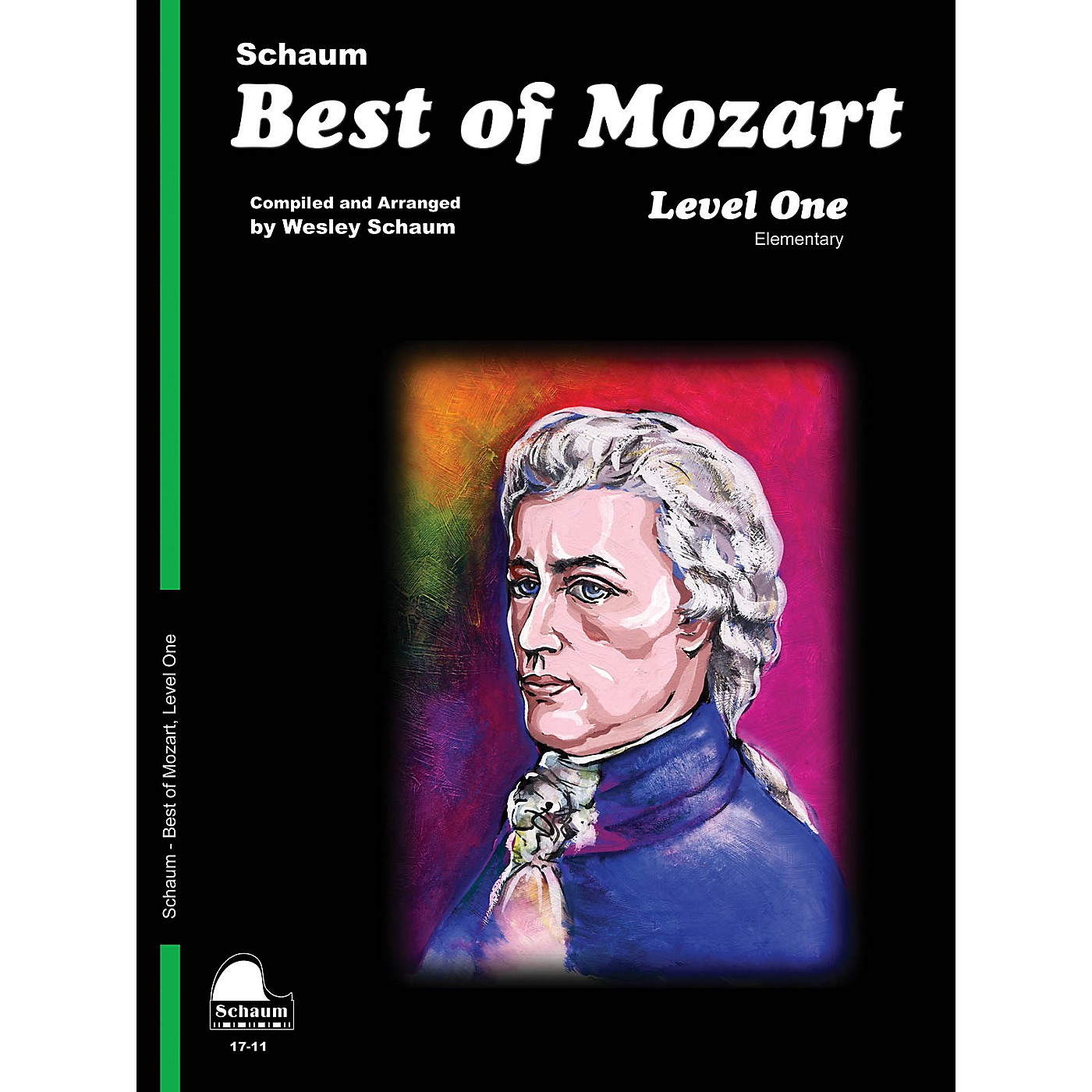 SCHAUM Best of Mozart (Level 1 Elem Level) Educational Piano Book by Wolfgang Amadeus Mozart thumbnail