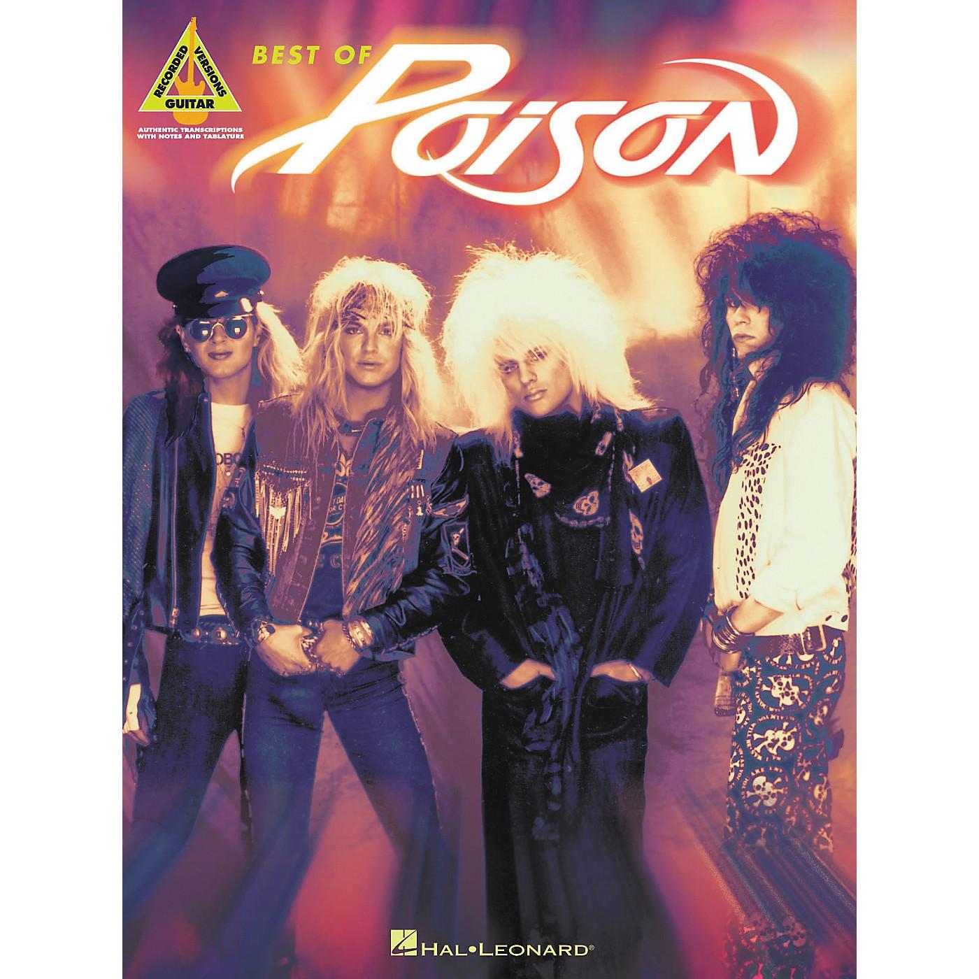 Hal Leonard Best of Poison Guitar Tab Songbook thumbnail