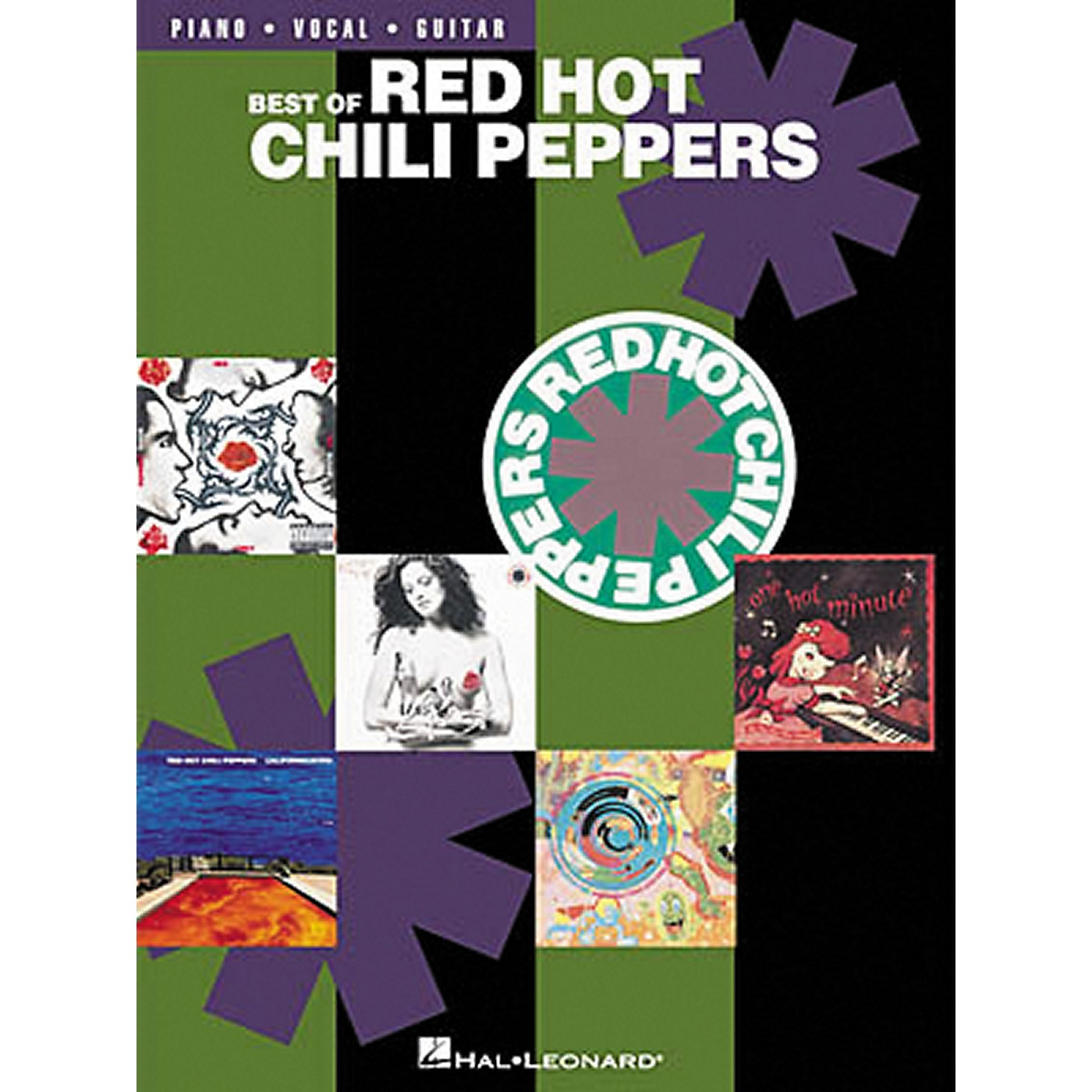 Hal Leonard Best of Red Hot Chili Peppers Piano, Vocal, Guitar Songbook thumbnail