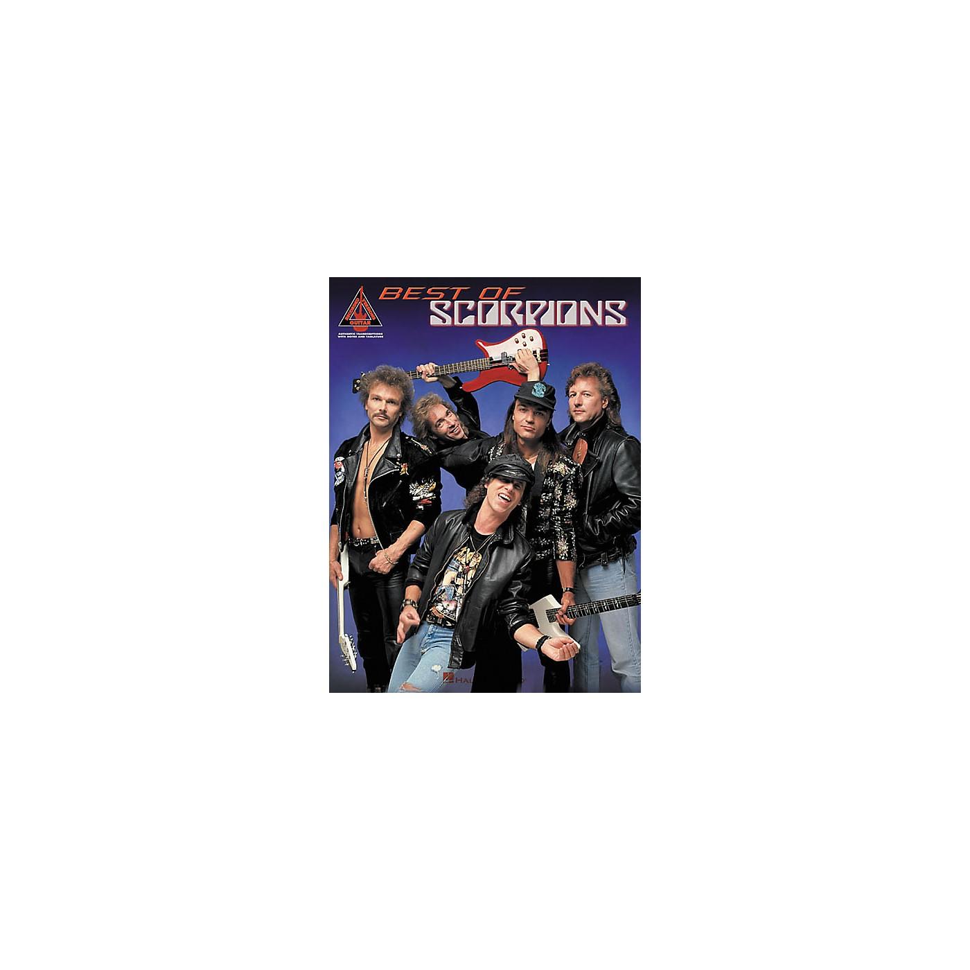 Hal Leonard Best of Scorpions Guitar Tab Songbook thumbnail