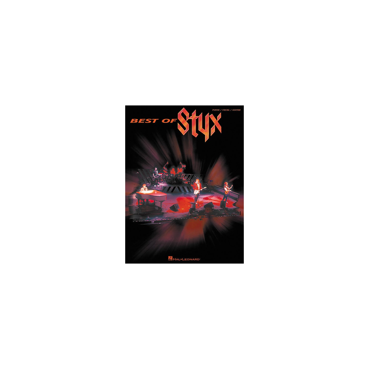 Hal Leonard Best of Styx Piano, Vocal, Guitar Songbook thumbnail