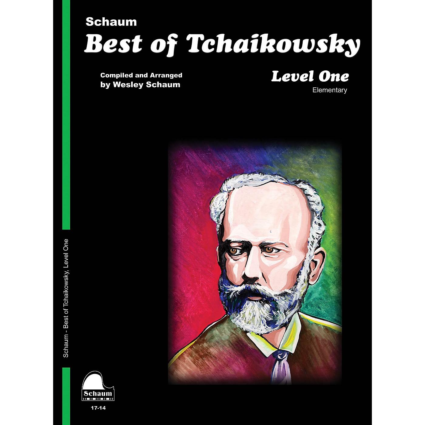 SCHAUM Best of Tchaikowsky (Level 1 Elem Level) Educational Piano Book thumbnail