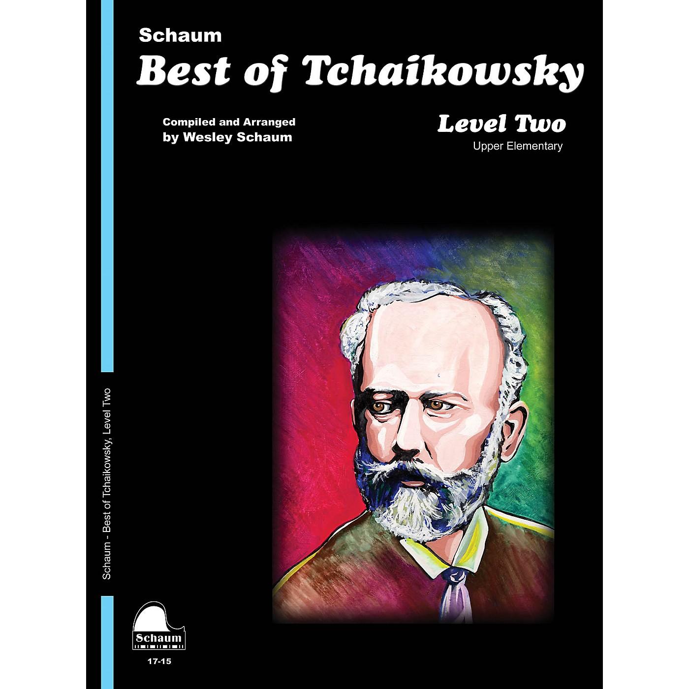 SCHAUM Best of Tchaikowsky (Level 2 Upper Elem Level) Educational Piano Book thumbnail
