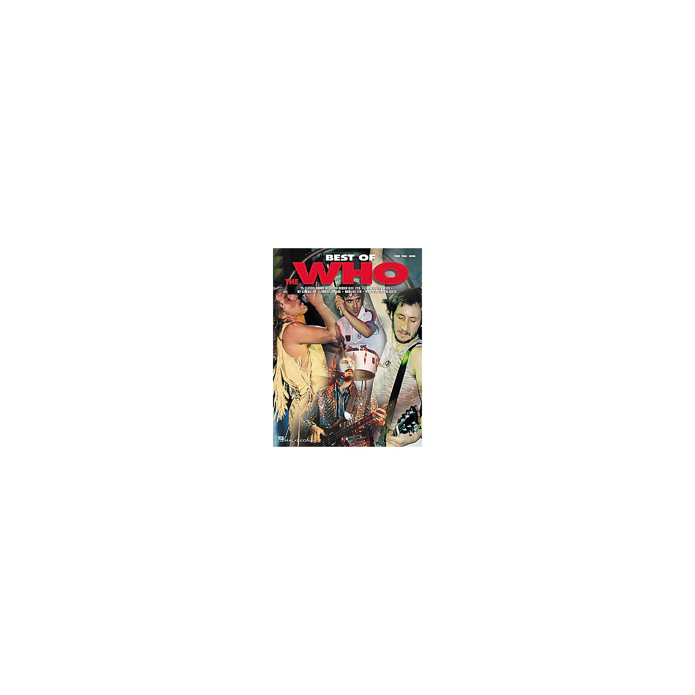 Hal Leonard Best of The Who Book thumbnail