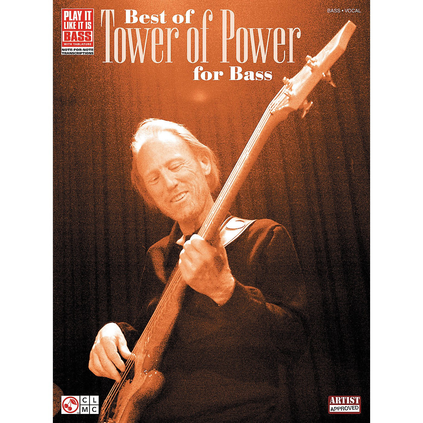 Cherry Lane Best of Tower of Power for Bass - Tab Book thumbnail
