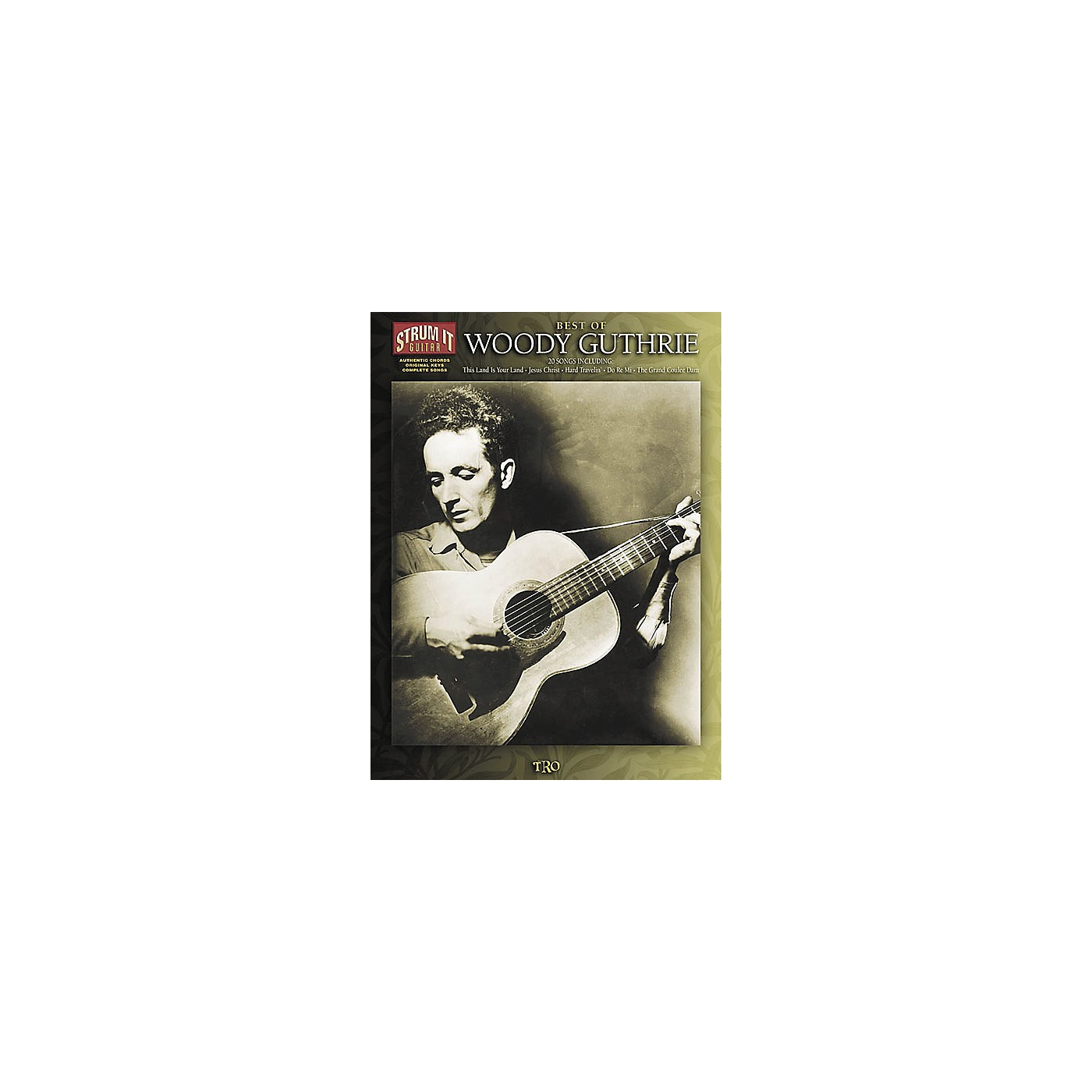 Hal Leonard Best of Woody Guthrie Strum it Guitar Book thumbnail