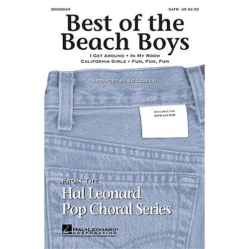 Hal Leonard Best of the Beach Boys (Medley) SAB by The Beach Boys Arranged by Ed Lojeski thumbnail