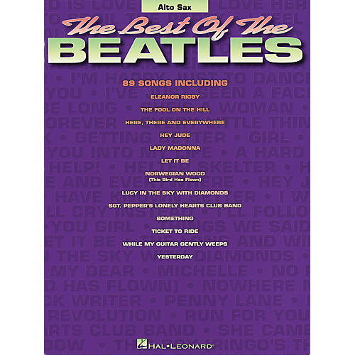 Hal Leonard Best of the Beatles - Alto Saxophone (Saxophone) thumbnail