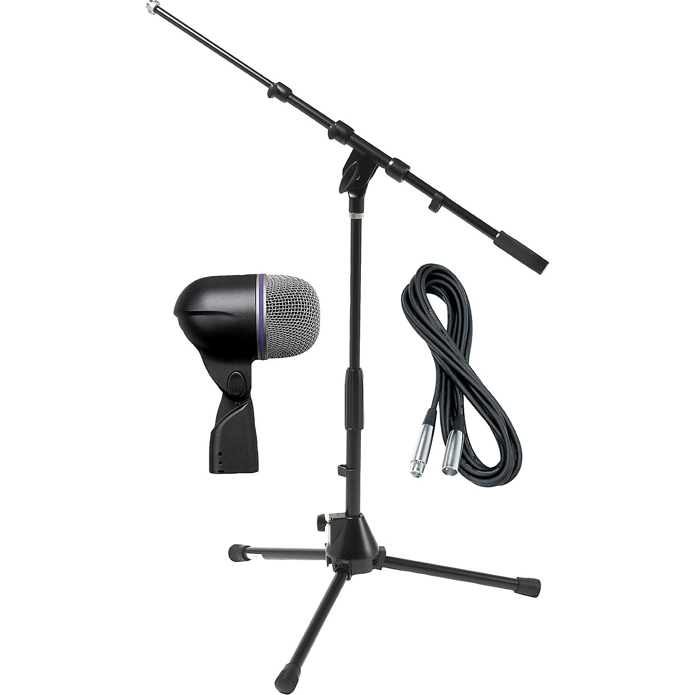 Shure Beta 52A Kick Mic with Cable and Stand thumbnail
