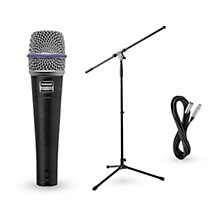 Shure Beta 57A Dynamic Mic with Cable and Stand