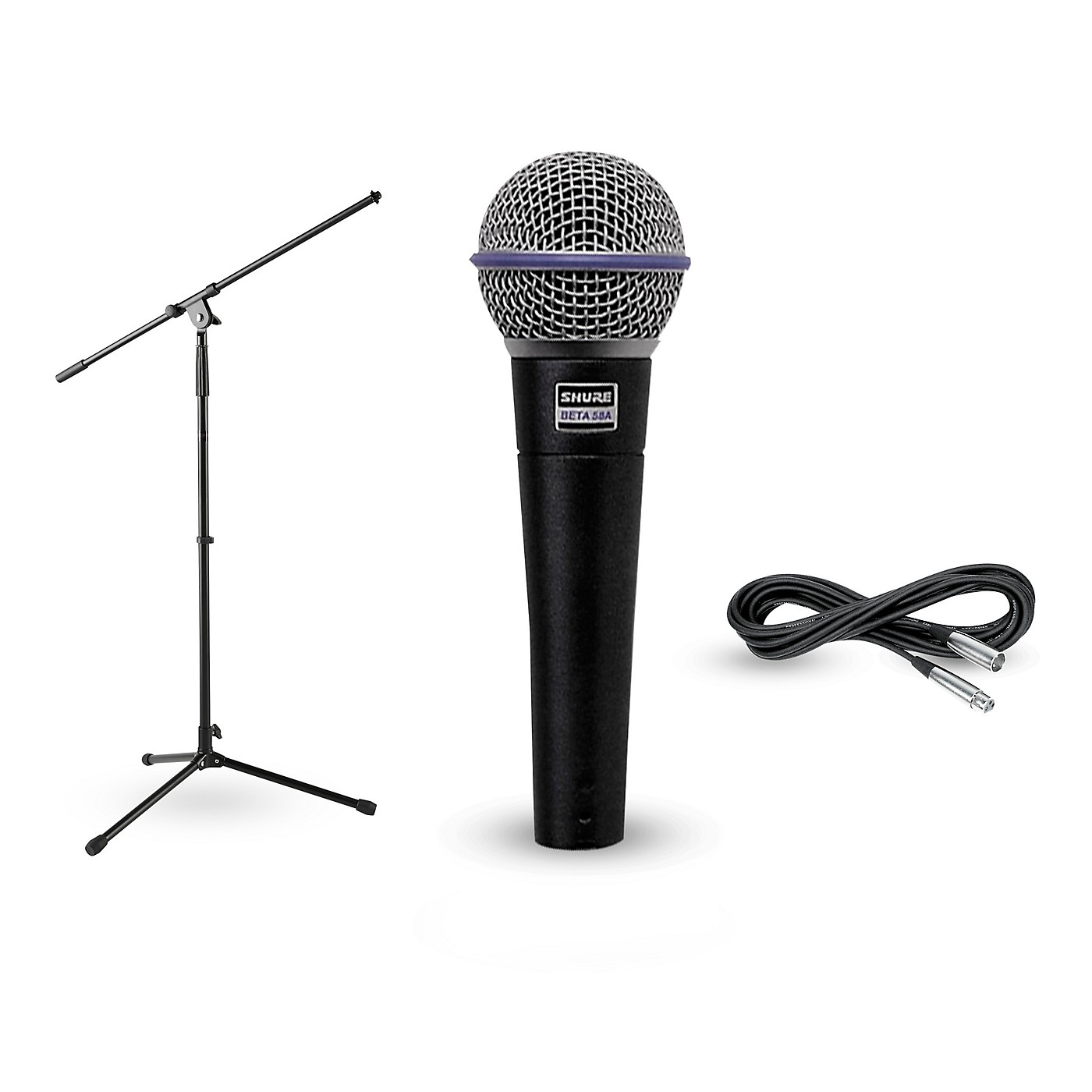 Shure Beta 58A, Stand & Cable Package thumbnail