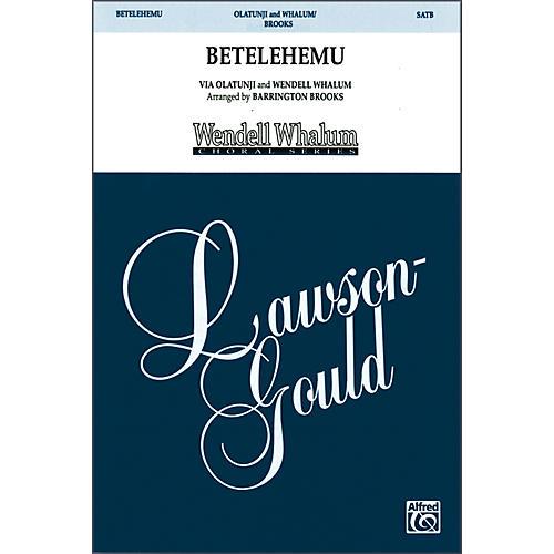 Alfred Betelehemu SATB Choral Octavo thumbnail