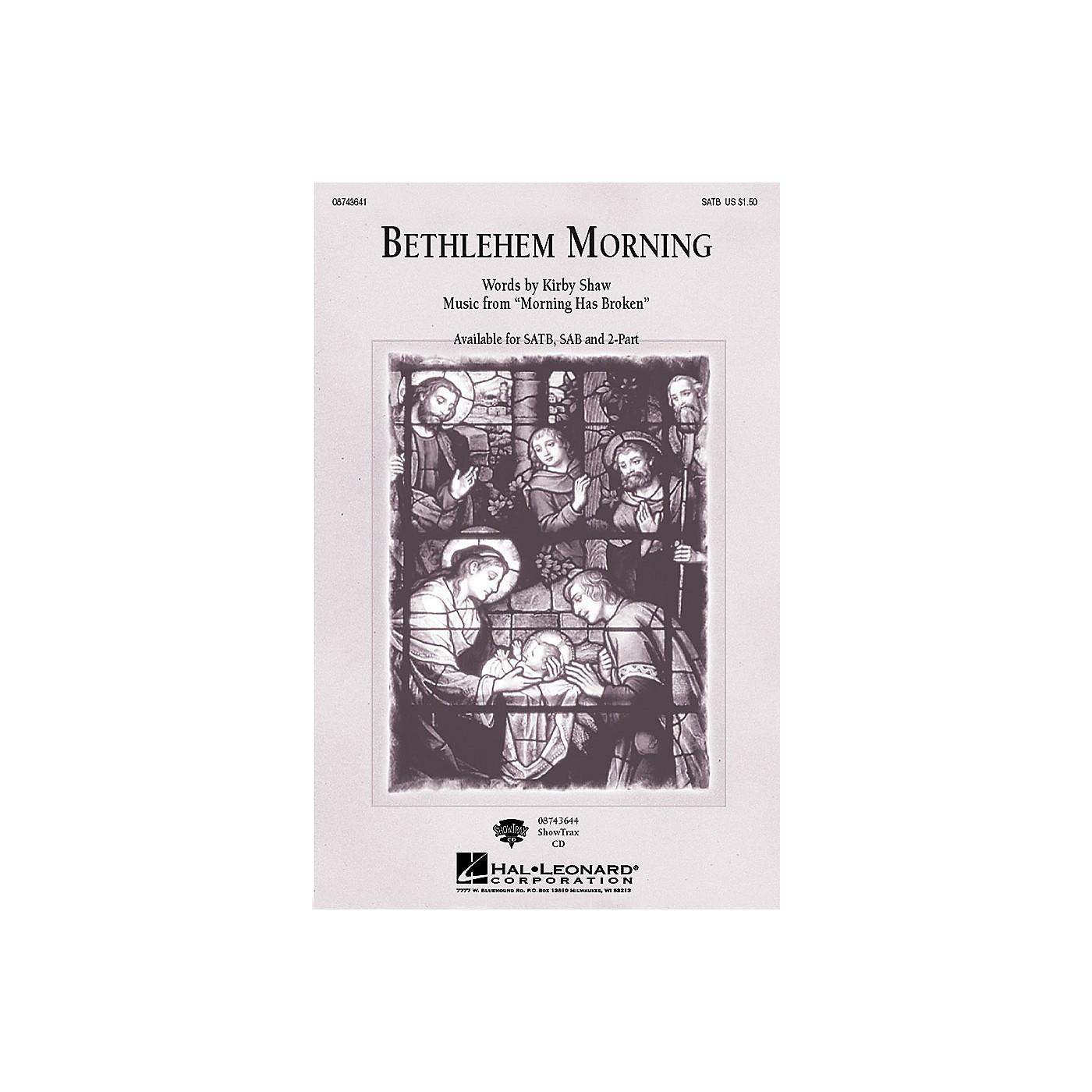 Hal Leonard Bethlehem Morning SATB composed by Kirby Shaw thumbnail