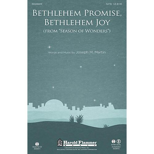 Shawnee Press Bethlehem Promise, Bethlehem Joy (from Season of Wonders) ORCHESTRA ACCOMPANIMENT by Joseph M. Martin thumbnail