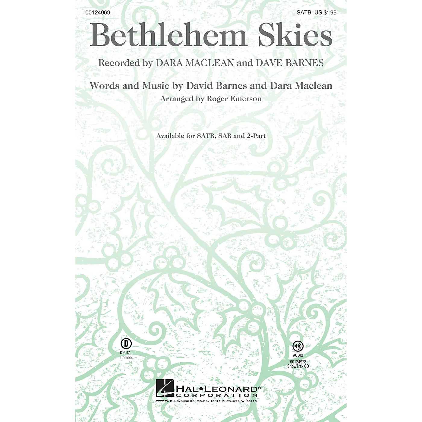 Hal Leonard Bethlehem Skies ShowTrax CD Arranged by Roger Emerson thumbnail